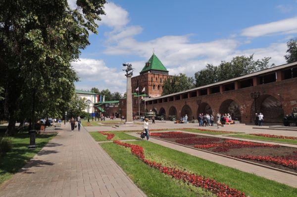 Нижний Новгород (Нижегородский кремль и Нижегородская ярмарка)