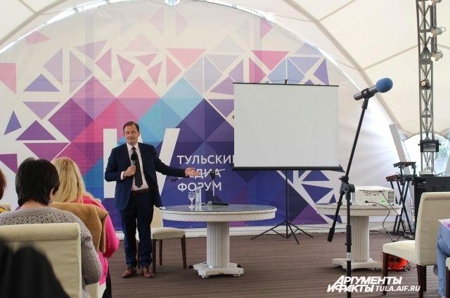 Сергей Брилёв, ведущий и заместитель директора ГТК «Телеканал «Россия»
