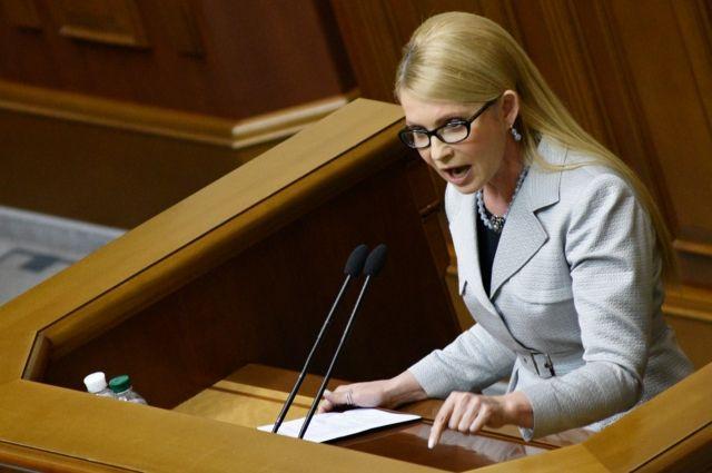Брови черные густые, речи длиннющие пустые— Тимошенко оПорошенко