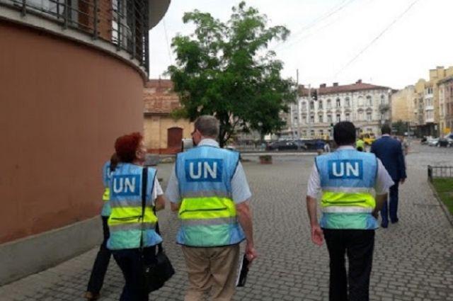 Делегаты ООН проверили подвалы СБУ вДонецкой области