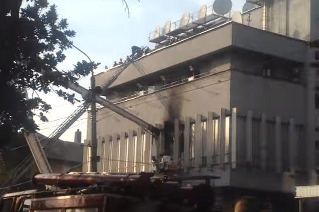 Деканоидзе прокомментировала поджог вофисе «Интера»