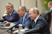 Владимир Путин на саммите G20 в Китае.