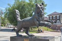 Памятник бабру.