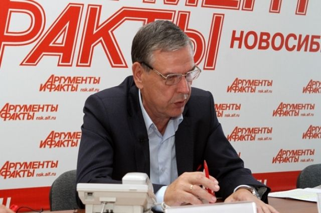 Начальник департамента транспорта и дорожно-благоустроительного комплекса мэрии города Новосибирска Сергей Райхман.
