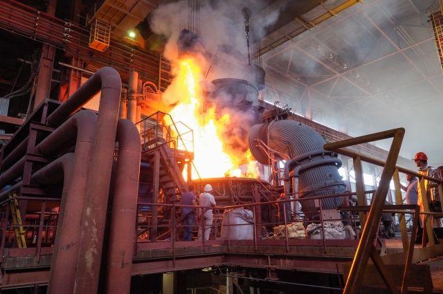 Губернатор Ставрополья принял участие взапуске нового электросталеплавильного цеха