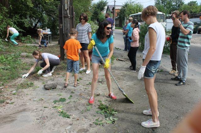 Омичи займутся уборкой города врамках Всероссийского субботника