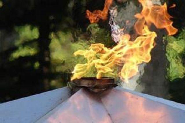 Дети потушили Вечный огонь вКоркино