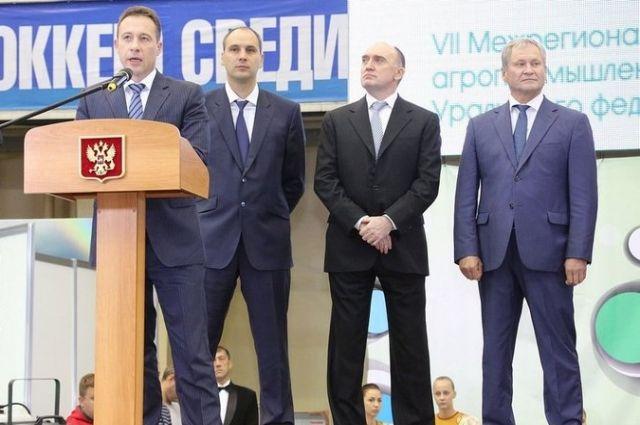Открытие выставки «Экопродукты Урала–2016».