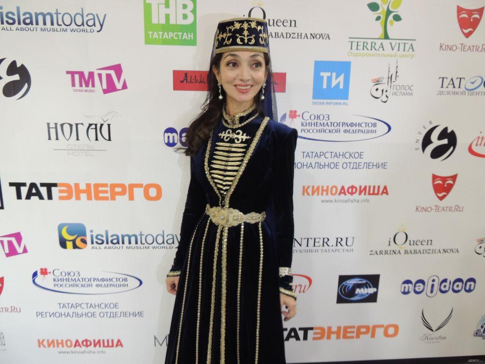 Гостья фестиваля из Ингушетии Тамара Индиева.