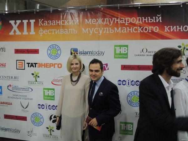 Консул Турции в Казани господин Турхан Дильмач с супругой.