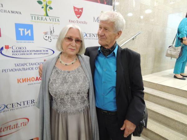 Актриса Нина Калаганова и режиссер Николай Морозов.