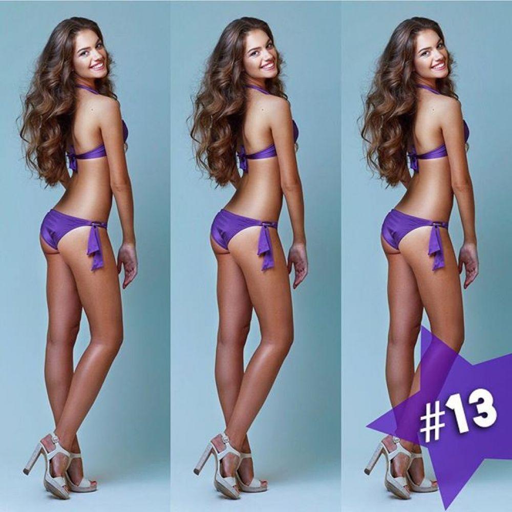 Саша завоевала свой титул под номером «13». Отличная фигурка!