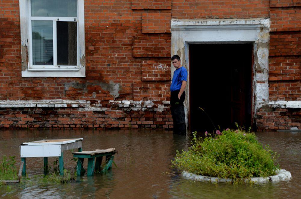 Последствия циклона в Приморье.
