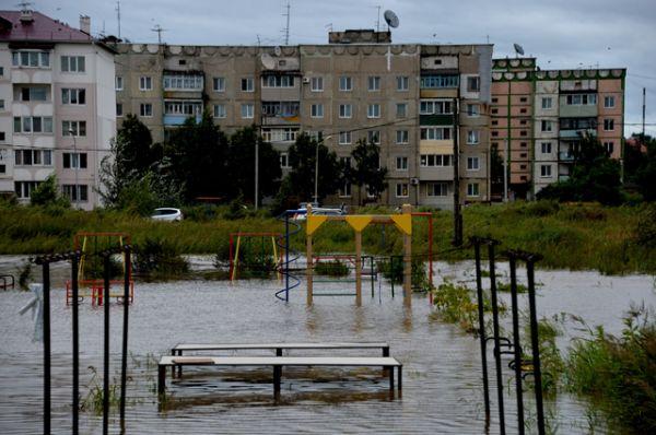 В десяти районах Приморского края остаются подтопленными более трех тысяч жилых домов.