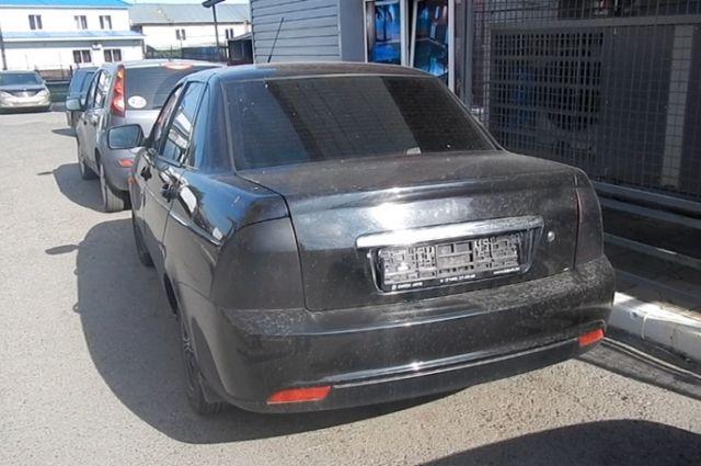 Второй автомобиль был обнаружен в течение часа.