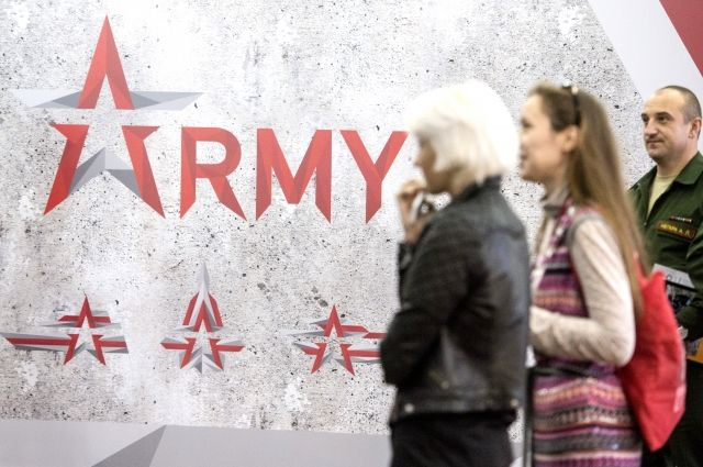 ВКубинке проходит международный форум «Армия-2016»
