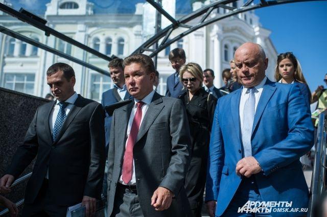 Назаров и Миллер приняли участие в открытии Любинского проспекта.