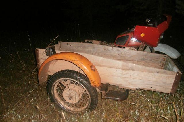 Нетрезвый шофёр мотоцикла умер вДТП вКизнерском районе