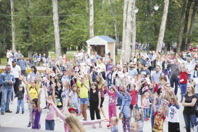 Эпицентром праздника стал сад им. Миндовского в Индустриальном районе Перми.