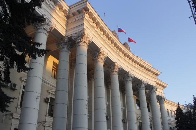 ВВолгограде заместитель губернатора поТЭК ушел вотставку