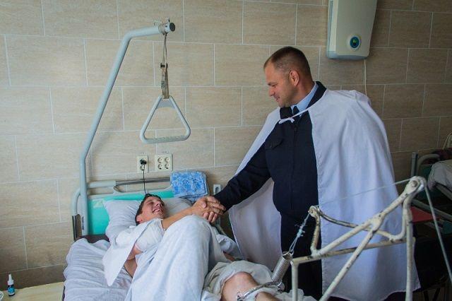 Пензенский сотрудник ГИБДД, пострадавший в трагедии слихой «девяткой», готовится коперациям