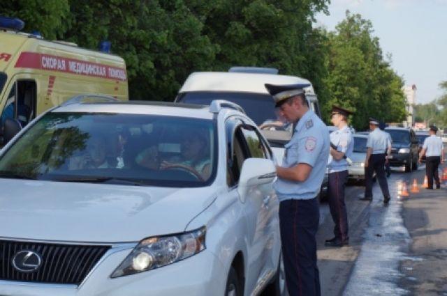 Два дня сплошных проверок натрассе «Брянск-Новозыбков»