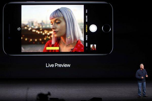 Новый смартфон теперь позволяет делать фото с размытием на заднем плане.