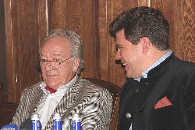 Юрий Темирканов и Денис Мацуев.