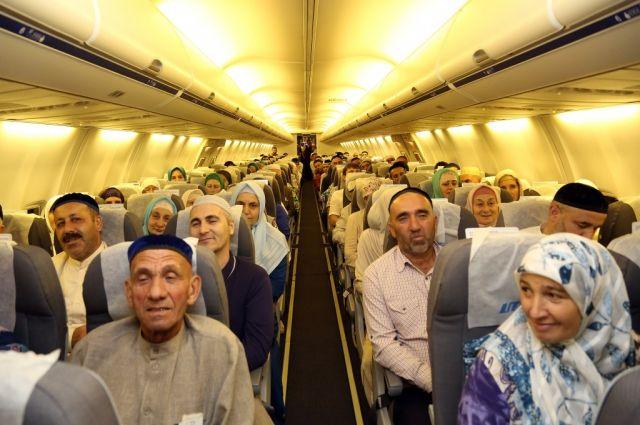 Мусульмане отправились в паломничество к святым местам.
