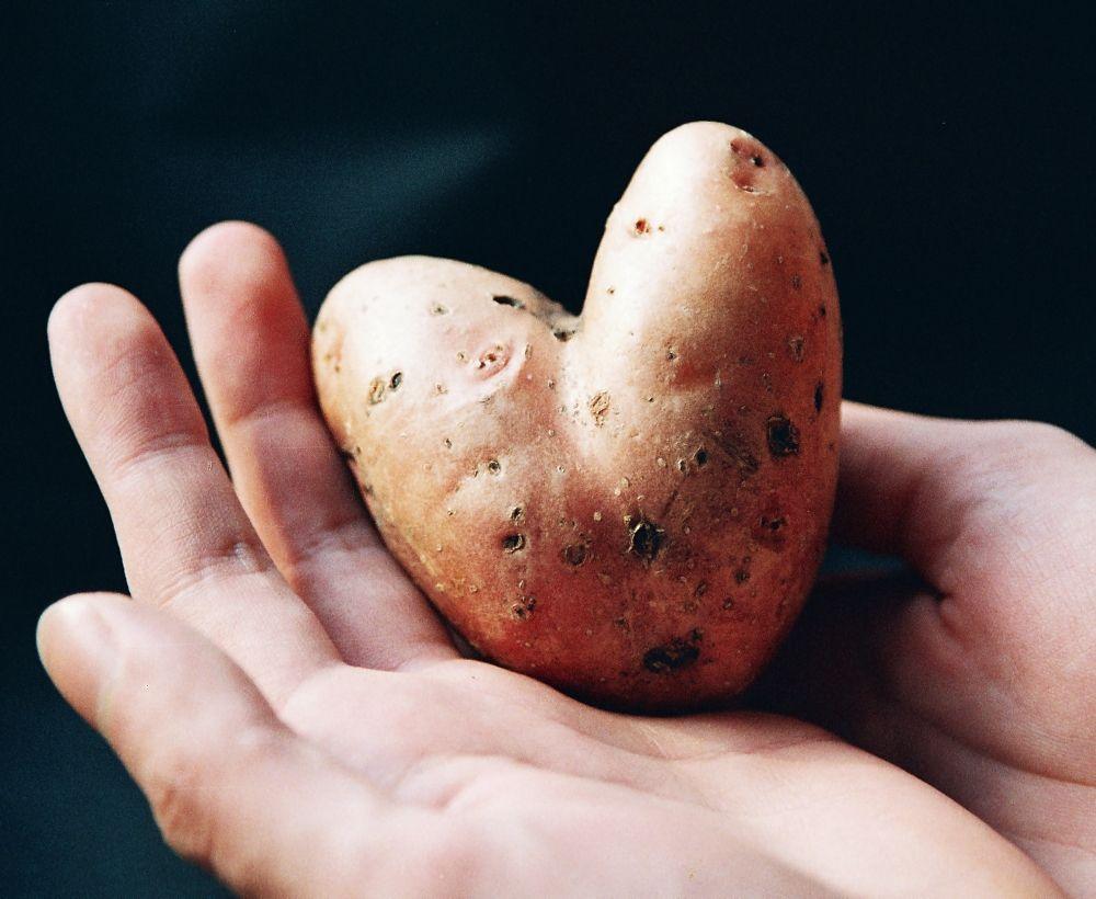 Картофельное сердце