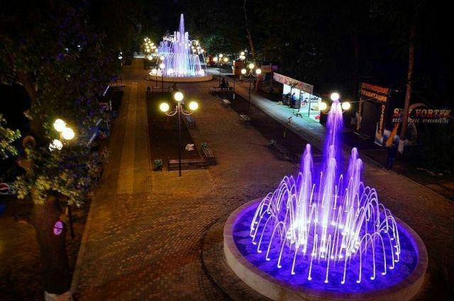 ВПятигорске коДню города запустят три новых фонтана