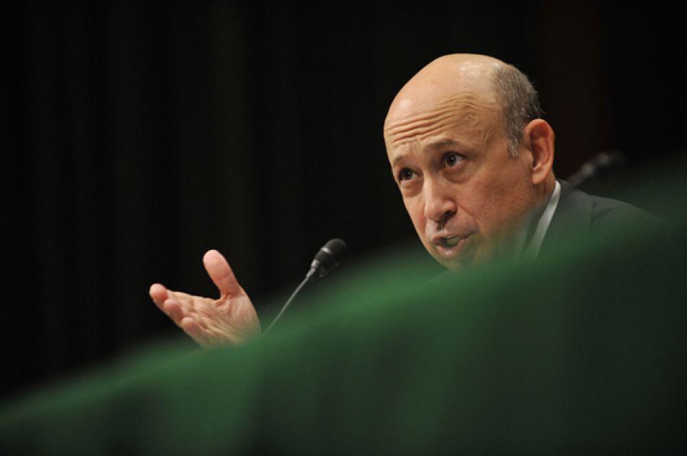 Глава Goldman Sachs Ллойд Бланкфейн.