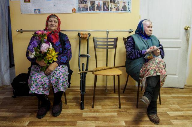 Пожилым людям будет комфортно в новом здании.
