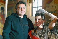Алексей Учитель на съемках фильма «Матильда. Тайна Дома Романовых».