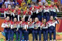 Победители Олимпиады в Рио - женская сборная России по гандболу. Фото