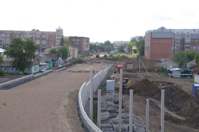 В Омске продолжают развитие дорожно-транспортной сети.