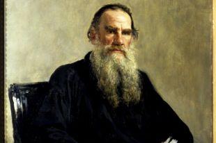 Лев Николаевич Толстой. Портрет Ильи Репина, 1887, репродукция