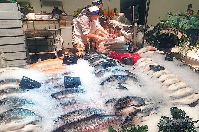 Сибас и ледяная рыба не могут быть охлаждёнными - это маркетинговый ход.