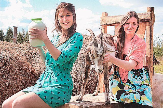 Подруги Лера и Полина держат 18 коз.