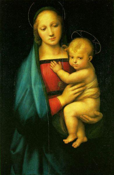 «Мадонна с младенцем (Мадонна Грандука)», 1504-1508.