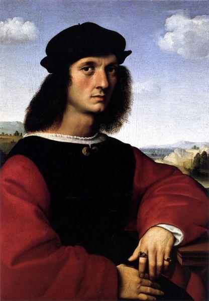 «Портрет Аньоло Дони», 1504-1507.