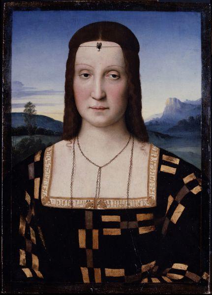 «Портрет Элизабетты Гонзага», 1506.