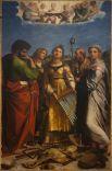 «Экстаз святой Цецилии со святыми Павлом, Иоанном Евангелистом, Августином и Марией Магдалиной», ок. 1515.