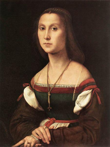 «Женский портрет (Немая)», ок. 1507.