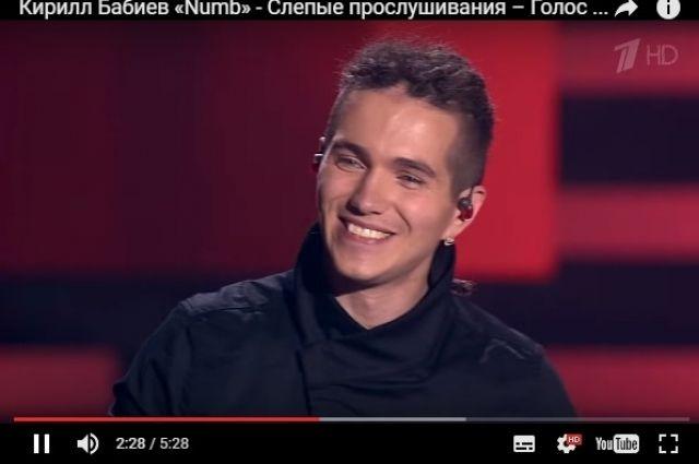 Нашоу «Голос» благополучно выступил ростовчанин Кирилл Бабиев