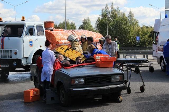 В трагедии сфурой вКрасноярском крае погибли двое взрослых имладенец