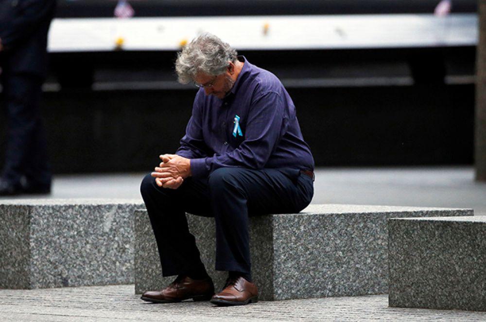 Памятные мероприятия, посвященные трагедии 11 сентября в США.