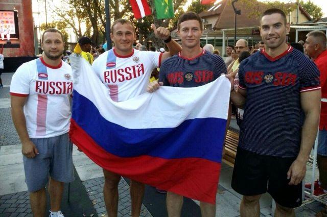 Четверка красноярца стала чемпионом мира побоб-стартам