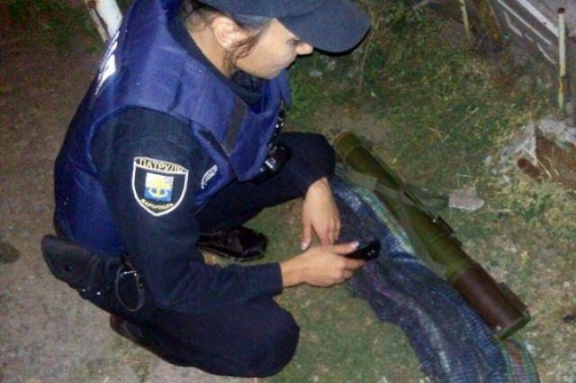 ВМариуполе дети отыскали готовый к применению гранатомёт