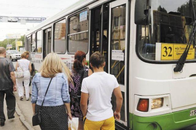 Водитель автобуса не заметил потери.